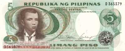 Philippines - 5  Piso (#143a_UNC)