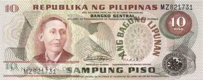 Philippines - 10  Piso (#161a_UNC)