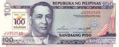 Philippines - 100  Piso (#188a_UNC)
