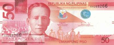 Philippines - 50  Piso (#224a_UNC)