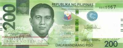Philippines - 200  Piso (#226a_UNC)