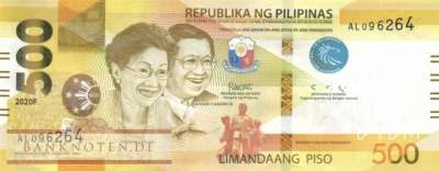 Philippines - 500  Piso (#227a_UNC)