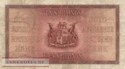 South Africa - 10  Shillings (#082d-33_F)
