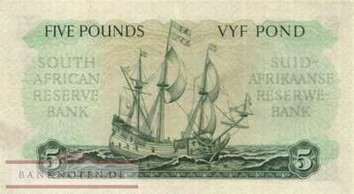 South Africa - 5  Pounds (#096a-50_XF)