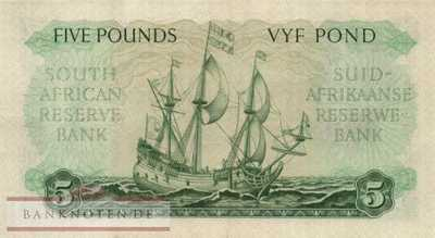 South Africa - 5  Pounds (#097a-51_XF)