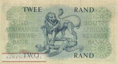 South Africa - 2  Rand (#105a_VF)