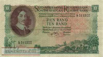 South Africa - 10  Rand (#107b_VF)