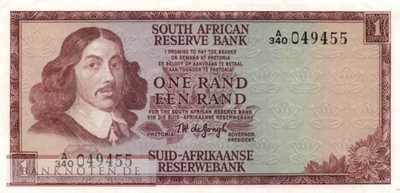 South Africa - 1  Rand (#109b_XF)