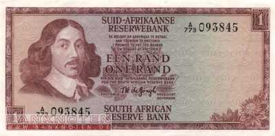 South Africa - 1  Rand (#110b_XF)