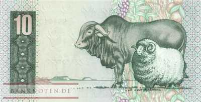 South Africa - 10  Rand (#120a_UNC)