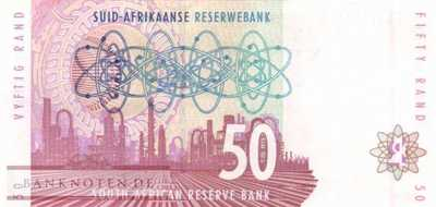 South Africa - 50  Rand (#125c_UNC)