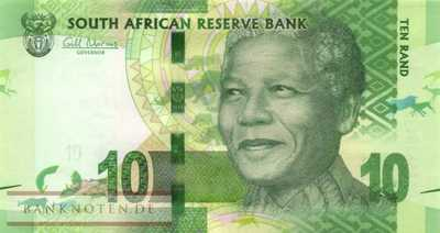South Africa - 10  Rand (#133_UNC)