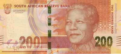 South Africa - 200  Rand (#147a_UNC)