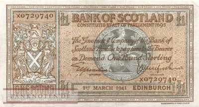 Scotland - 1  Pound (#091b_VF)