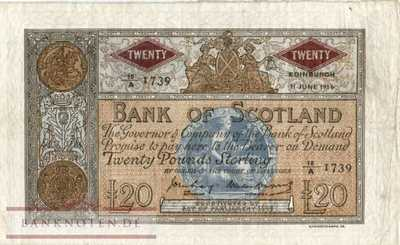 Scotland - 20  Pounds (#094e_VF)