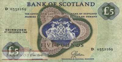 Scotland - 5  Pounds (#110b_F)