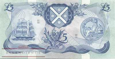 Scotland - 5  Pound (#112c-77_XF)