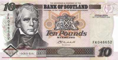 Scotland - 10  Pounds (#120e_UNC)