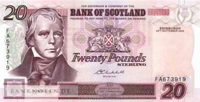 Scotland - 20  Pounds (#121e_UNC)