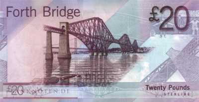 Scotland - 20  Pounds (#126b_UNC)