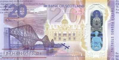 Scotland - 20  Pounds - polymer (#132_UNC)