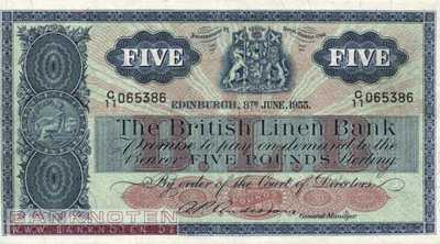 Scotland - 5  Pounds (#161b-55_VF)