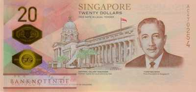 Singapur - 20  Dollars - commemorative (#063_UNC)
