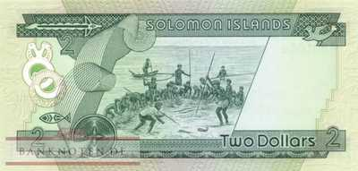 Solomon Islands - 2  Dollars (#005a_UNC)