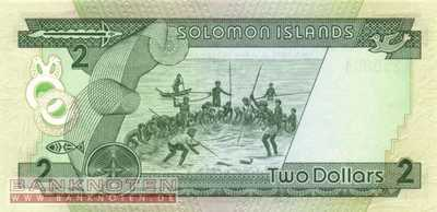 Solomon Islands - 2  Dollars (#013a_UNC)