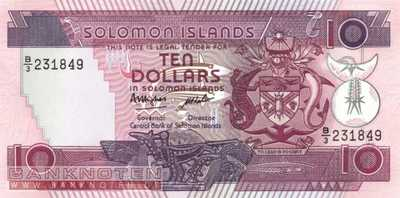Solomon Islands - 10 Dollars (#015a_UNC)