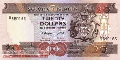 Solomon Islands - 20  Dollars (#016a_UNC)