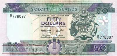 Solomon Islands - 50  Dollars (#017a_UNC)