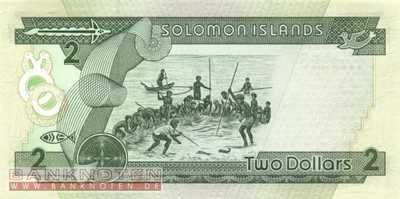 Solomon Islands - 2 Dollars (#018_UNC)
