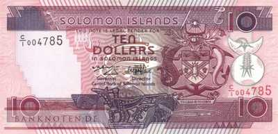 Solomon Islands - 10  Dollars (#020_UNC)