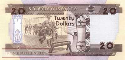 Solomon Islands - 20  Dollars (#021_UNC)