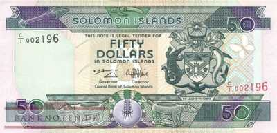 Solomon Islands - 50  Dollars (#022_UNC)
