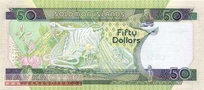 Solomon Islands - 50  Dollars (#024_UNC)