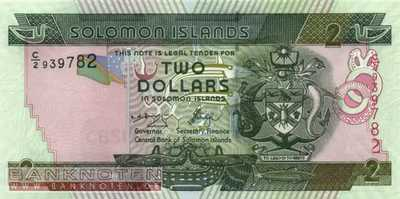 Solomon Islands - 2  Dollars (#025-U8_UNC)