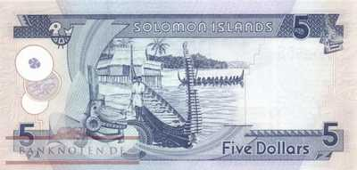 Solomon Islands - 5  Dollars (#026-U10_UNC)