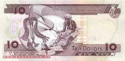 Solomon Islands - 10  Dollars (#027-U10_UNC)
