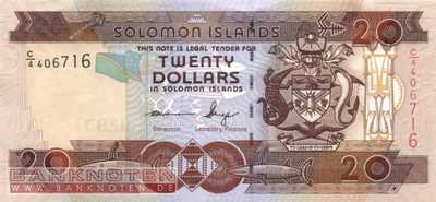 Solomon Islands - 20  Dollars (#028-U10_UNC)