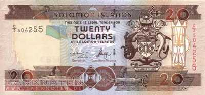 Solomon Islands - 20  Dollars (#028-U8_UNC)
