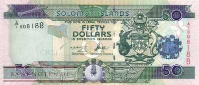 Solomon Islands - 50  Dollars (#029-U8_UNC)