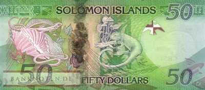 Solomon Islands - 50  Dollars (#035a_UNC)