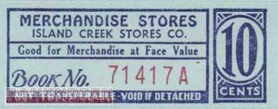 Spitsbergen - Island Creek - 10  Cents - Coupon (#IC03_UNC)