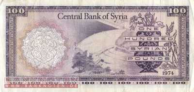 Syria - 100 Pounds (#098d_VF)