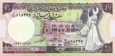 Syria - 10 Pounds (#101e_UNC)