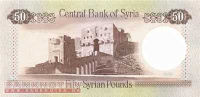 Syria - 50 Pounds (#103e_UNC)