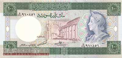 Syria - 100  Pounds (#104d_UNC)