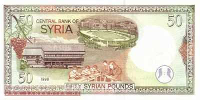Syria - 50  Pounds (#107_UNC)